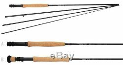 TFO NXT Black Label Fly Rod Combo, Temple Fork Outfitters Black Label Combo