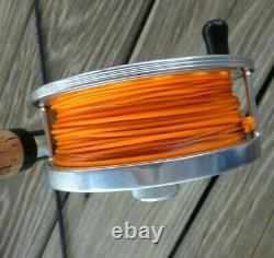 TIBOR Pacific Fly Reel with 9' Gary LOOMIS IMX Fly Rod + Carry Case Ex. Cond