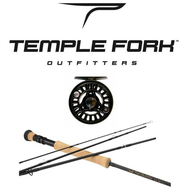 Temple Fork Outfitters Pro Series Ii 4-piece Fly Rod And Prism La Reel Combo For