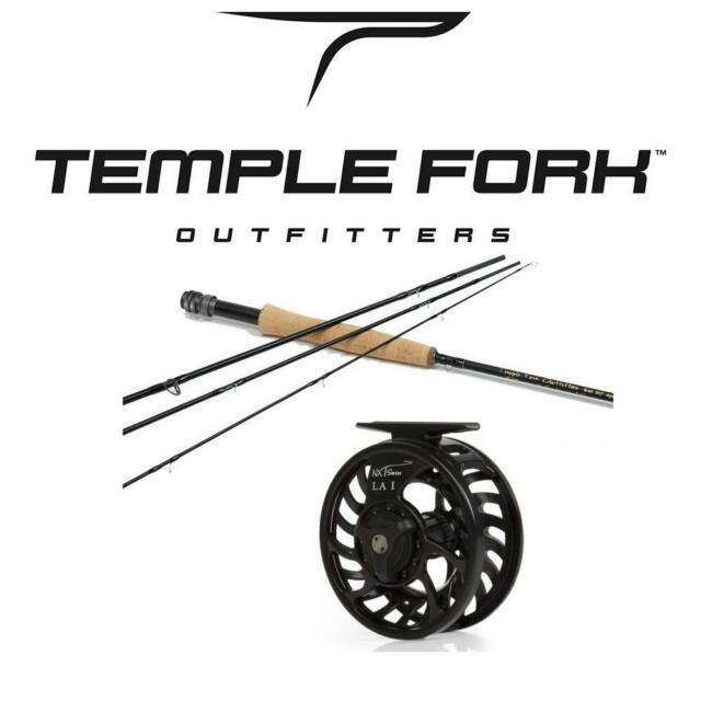 Tfo Professional Series Ii 4-piece Fly Rod & Tfo Nxt La Reel Combo For 4, 5 Or 6