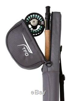 Tfo Temple Fork Outfitters Nxt Black Label 9' #5 Wt 4 Piece Fly Rod & Reel Combo