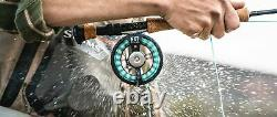 Tfo Temple Fork Outfitters Nxt Black Label 9' #8 Wt 4 Pc Fly Rod & Reel Combo