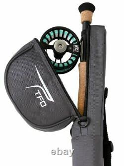 Tfo Temple Fork Outfitters Nxt Black Label 9' #8 Wt 4 Pc Fly Rod Reel Combo Kit