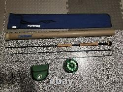 Ultimate Combo Abel Super 12 Fly Reel Custom Green + Sage RPLXi 1190-3 9' #11