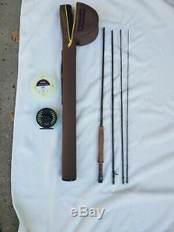 Used REDINGTON PATH II 9' #5 WEIGHT 4 PC. FLY ROD REEL COMBO with SA extra line