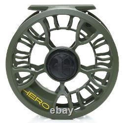 VISION HERO FLY REELS Standard #4/6 #7/9 PLUS SPARE SPOOL. COMBO DEAL