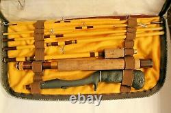 Vintage Eagle Claw Trailmaster 8 Pc. TRP603 Fly Rod Wright & McGill Orig Pouch