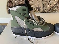 Vintage Patagonia Canyon Walker Fly Fishing Wading Boots Felt Soles