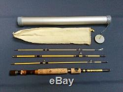Vintage Wright McGill Eagle Claw 6 1/2Trailmaster spin/fly fishing combination