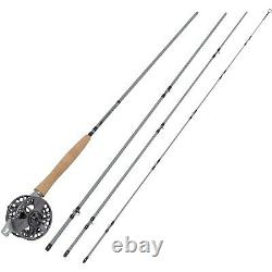 Waterworks Lamson Center Axis 4 Pcs 9' Fly Rod & Reel Combo System Choose Weight