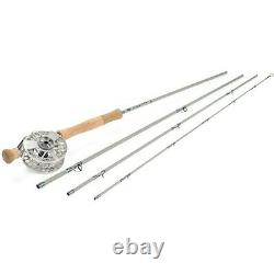 Waterworks Lamson Center Axis Saltwater Rod & Reel System 6WT, 9', 4 pieces