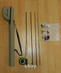 White River Hobbs Creek Fly Rod and Reel Combo 9 ft 4 Piece HCF9054